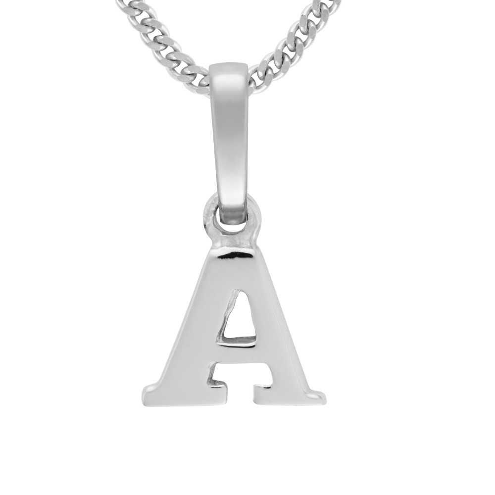 Buchstaben Anhänger Silber