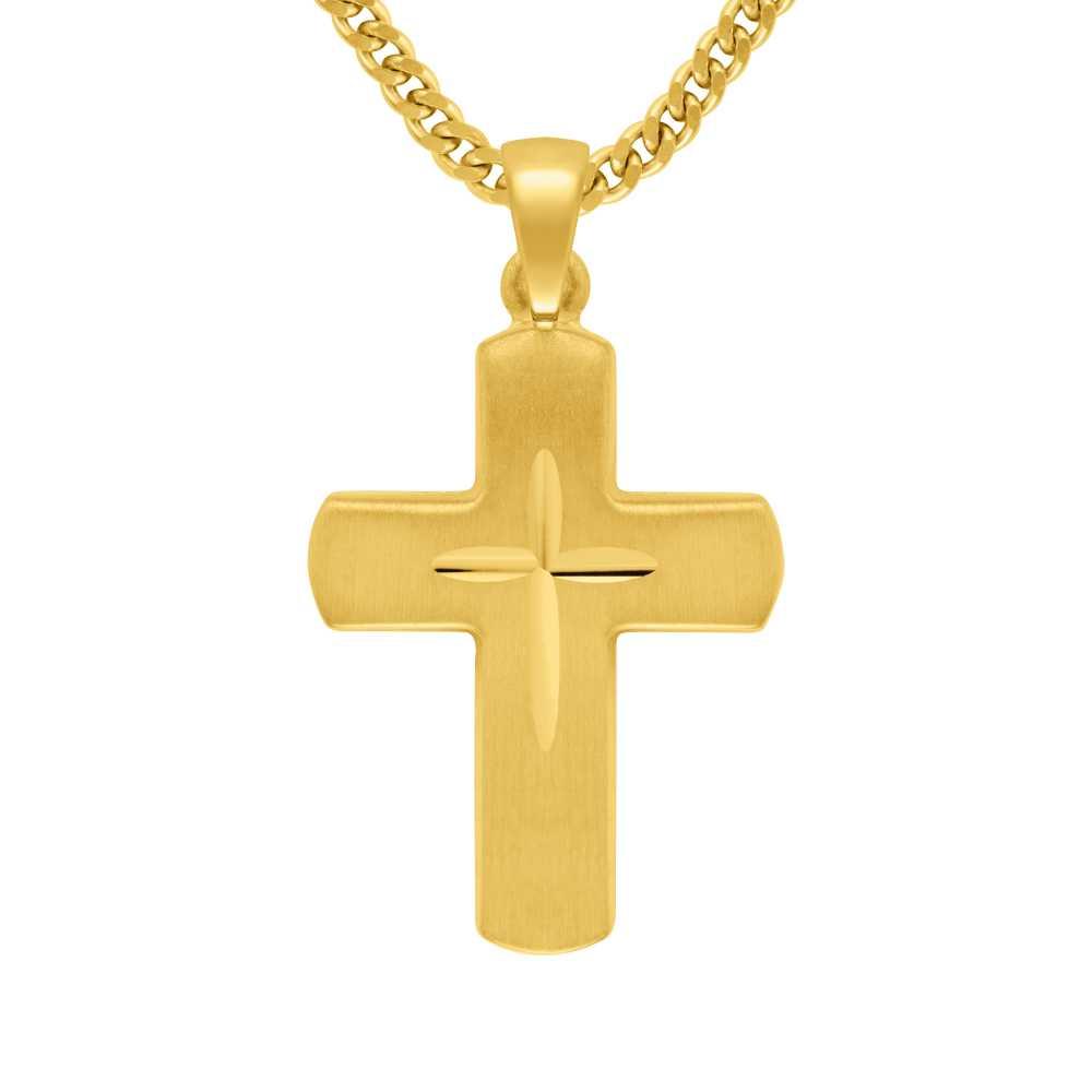 Gelbgold Kreuz