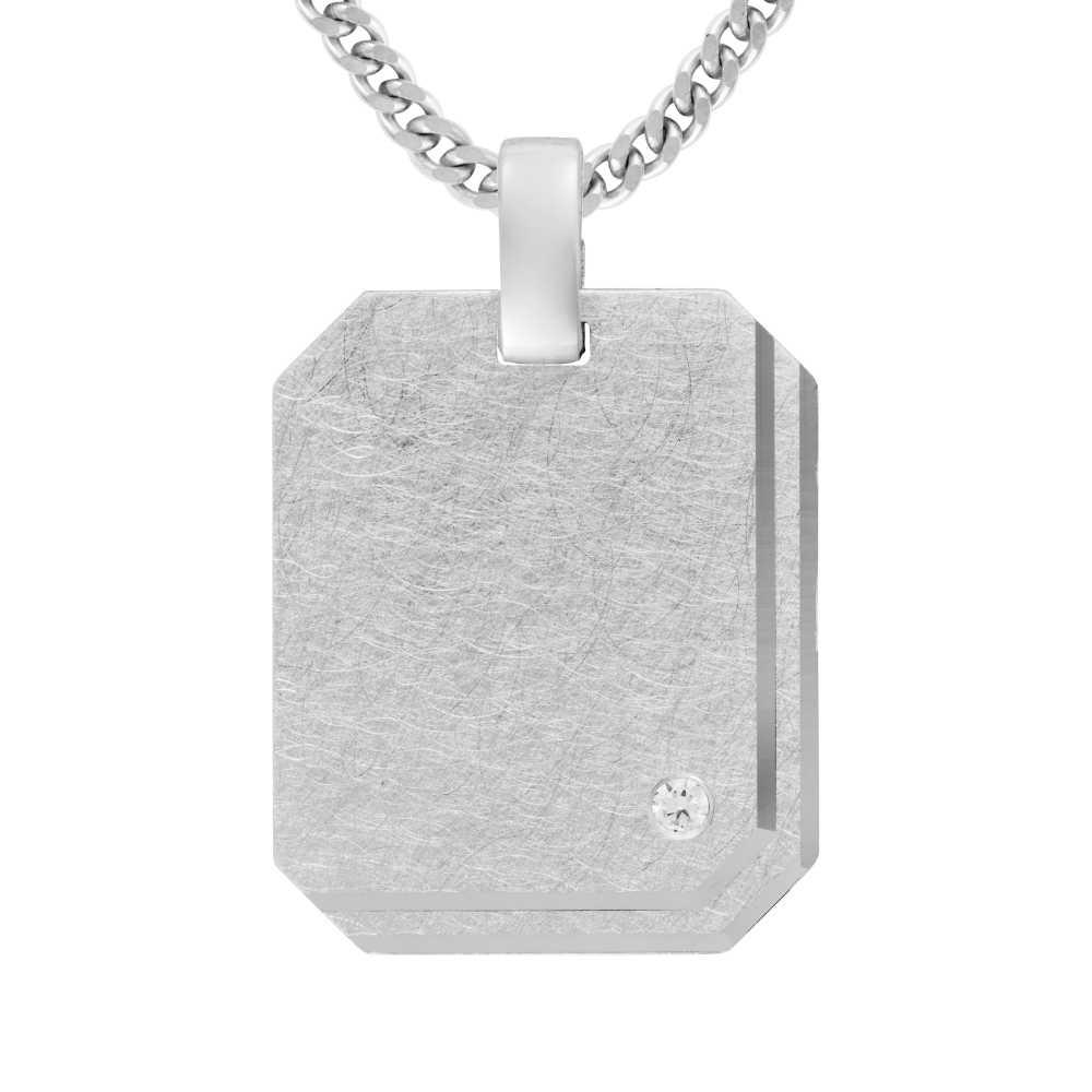 Gravurplatte Silber