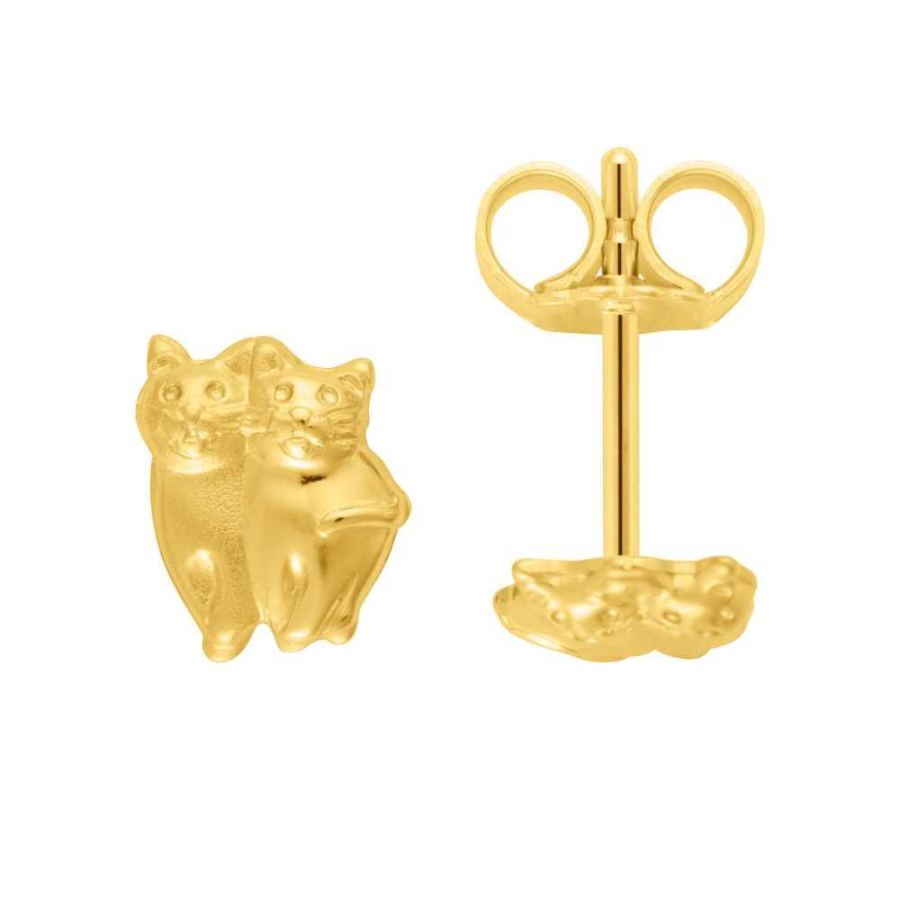 Katzen-Ohrstecker