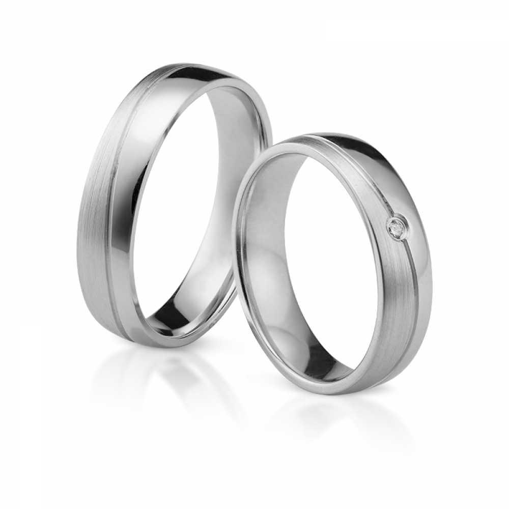 Silber Partnerringe 4308