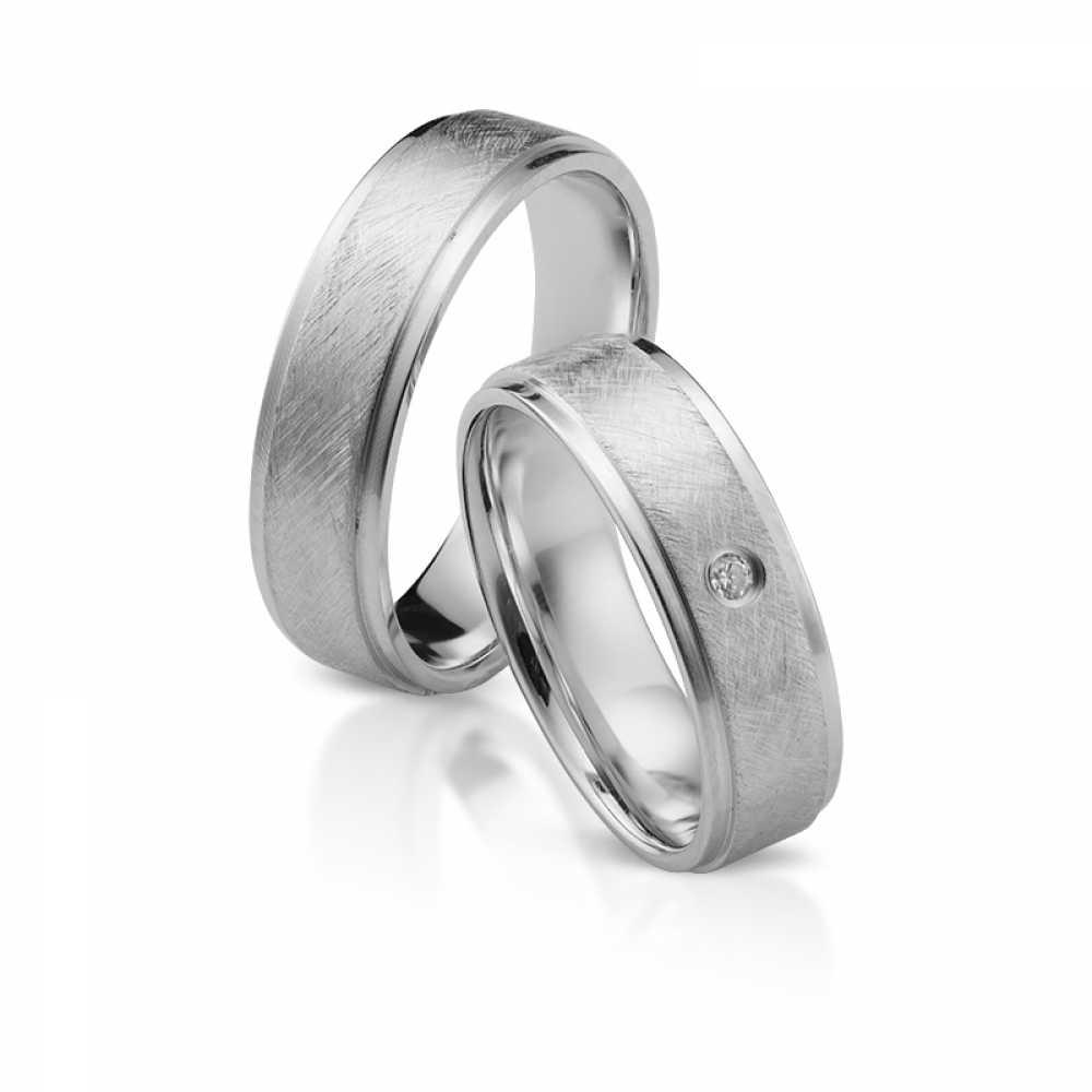 Silber Partnerringe 4318
