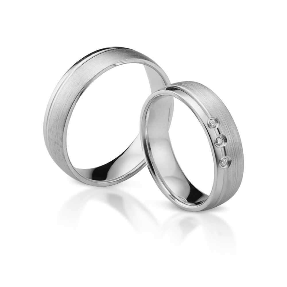 Silber Partnerringe 4321