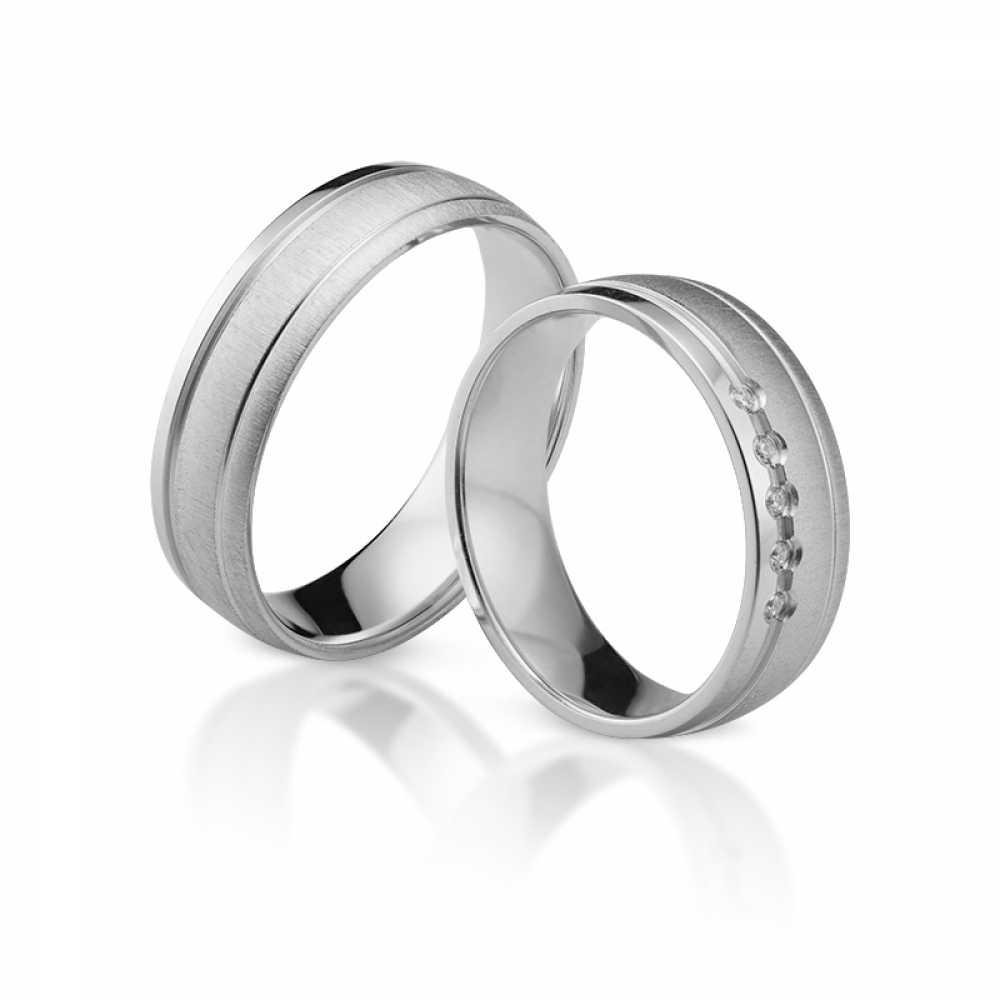 Silber Partnerringe 4326