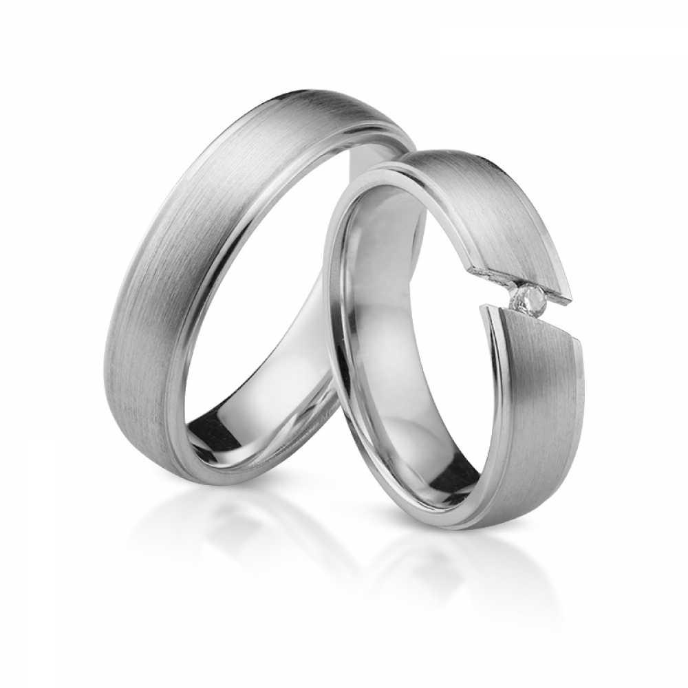 Silber Partnerringe 4327