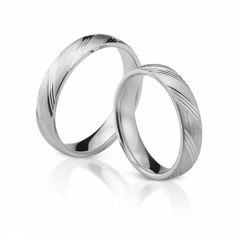Silber Partnerringe 4345