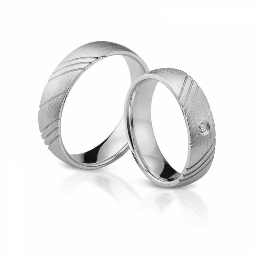 Silber Partnerringe 4346