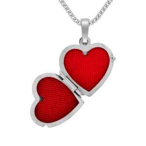 Silber Herz Medaillon